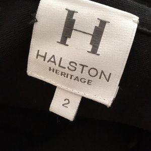 Halston Heritage Dresses - Halston Heritage black bodycon asymmetrical dress